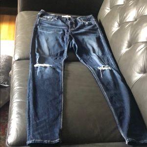 Daytrip Lynx high rise skinny jeans 31R.